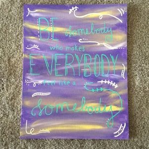 Inspirational Quote Canvas
